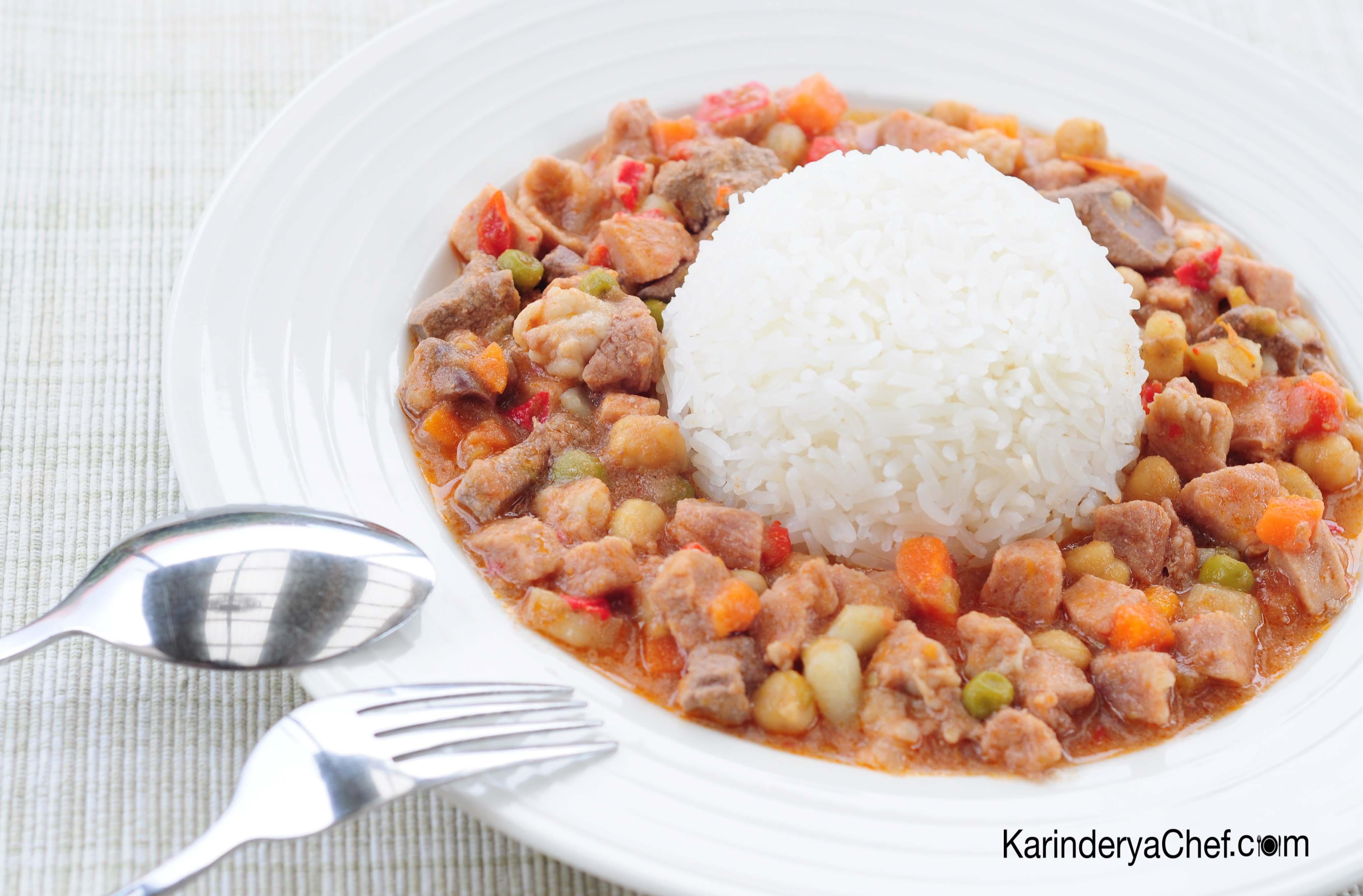 KarinderyaChef's Pork Menudo